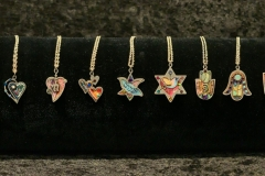 mezzuzahs-Star-of-David-necklaces-