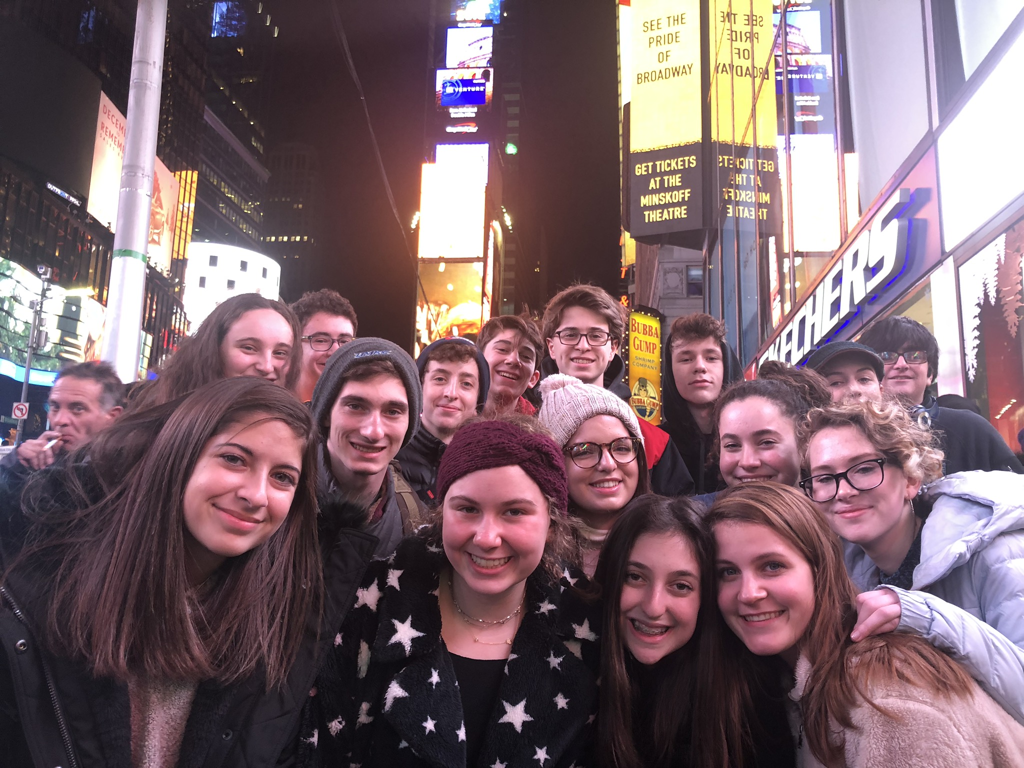 Annual Teen Trip to New York